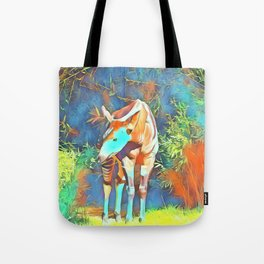 Animal ArtStudio 419 Okapi Tote Bag