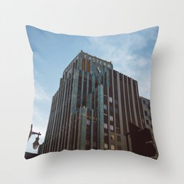 Eastern Building, Los Angeles III Throw Pillow