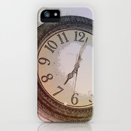 The Wall Clock iPhone Case
