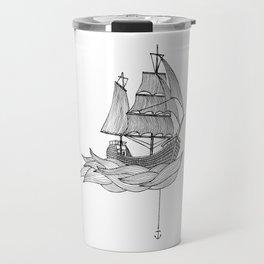 The ship Travel Mug