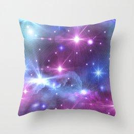 Fantasy Space Glow Throw Pillow