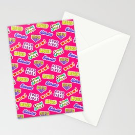 Good vibez / Red Stationery Cards