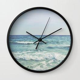 Ocean Crashing Waves Wall Clock