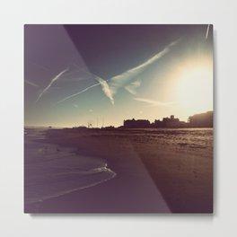 Ocean City Beach Metal Print