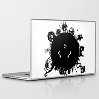 aliens Laptop & iPad Skins featuring Aliens On Aliens! by Aaron Lin