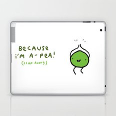 Happy Pea Laptop & iPad Skin