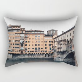 italian Architecture in Florence Rectangular Pillow