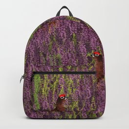Grouse Pattern Backpack
