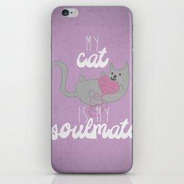 Soulmate iPhone Skin