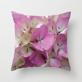 It's Not Summer without Hydrangeas Throw Pillow