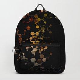 Metallic Molecule Backpack