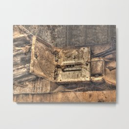 Dangerous voltage Metal Print
