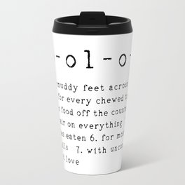 Lab-ol-o-gy Quote Travel Mug