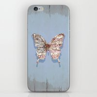 atlanta iPhone & iPod Skins featuring butterfly atlanta by Steffi Louis