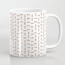Giraffe Pixel Art Emoji Coffee Mug