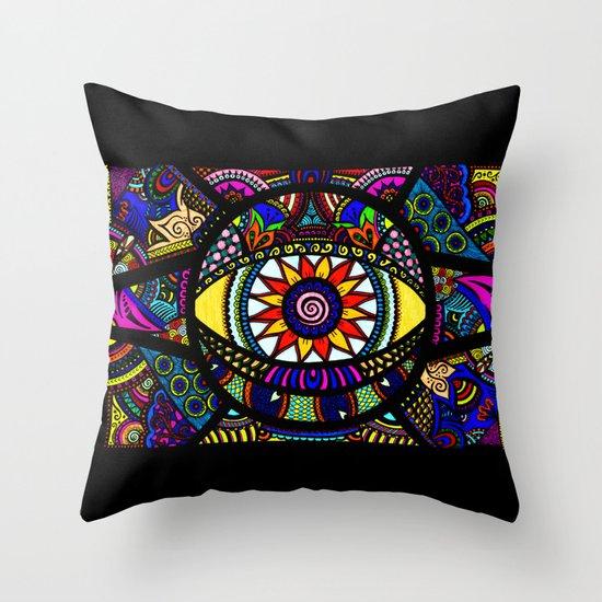 Hypnotica Throw Pillow