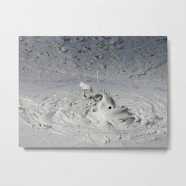 Boiling Mud Metal Print