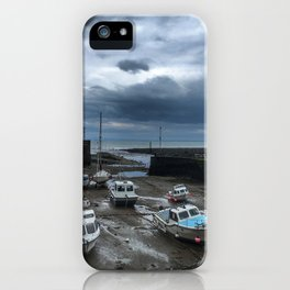 Boats of Lynmouth iPhone Case