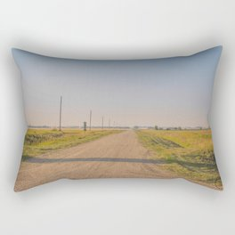 Countryside Near Garrison, ND 6 Rectangular Pillow