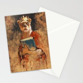The queen's orders Stationery Cards