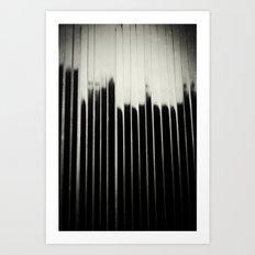STEEL & MILK Art Print