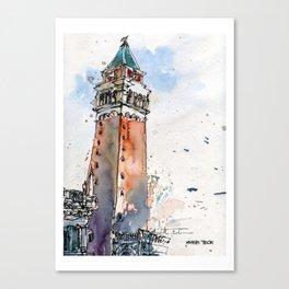 20140717 St Mark Square Canvas Print