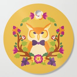 Baltimore Woods Owl - Fall Colors Cutting Board