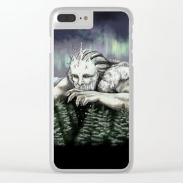 Ymir the Frost Giant Clear iPhone Case