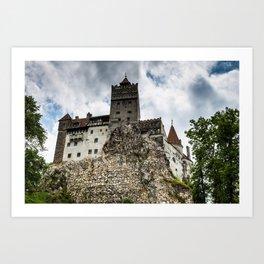 Bran Castle Art Print
