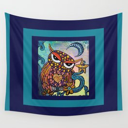 Mystical Owl Wall Tapestry