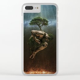 The Tree of Life Clear iPhone Case