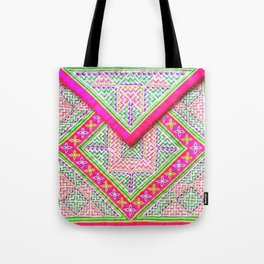 Hmong cloth Tote Bag