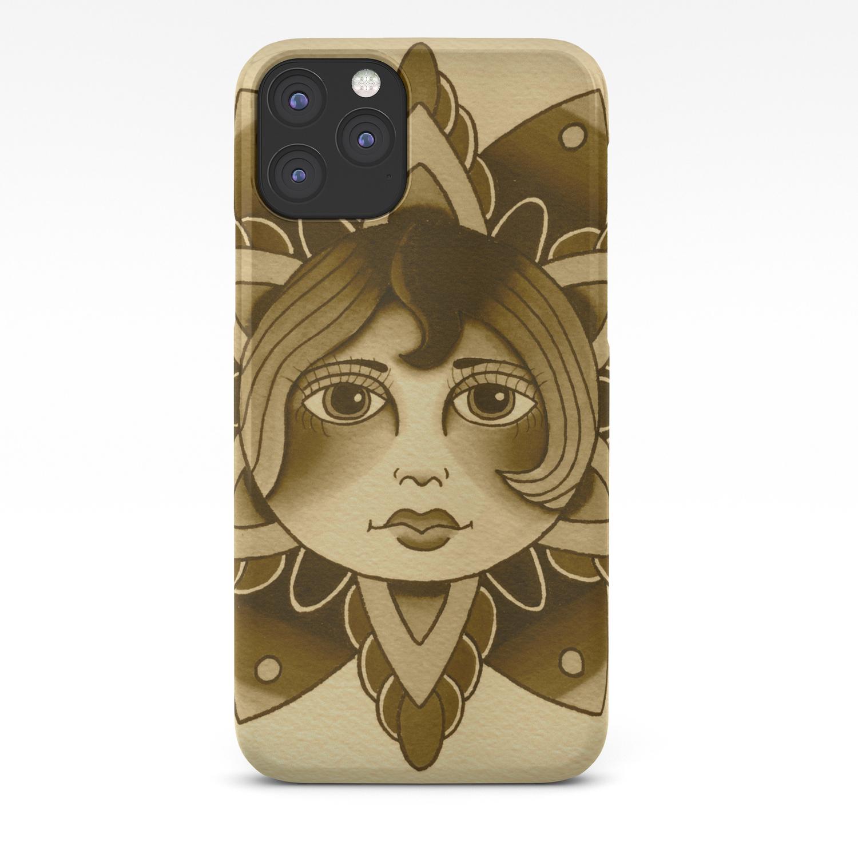 Mandala Girl iPhone 11 case