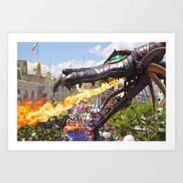 Festival of Fantasy Maleficent Dragon Art Print