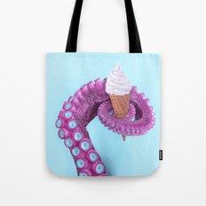 OCTOPUS ICE CREAM Tote Bag