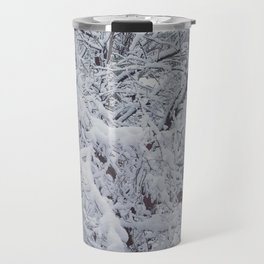 Snowy Branches Travel Mug
