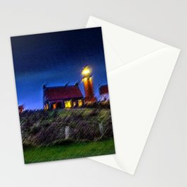The Light Keeper's House Landscape by Jeanpaul Ferro Stationery Cards