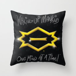 C2 & Posse Emblem Throw Pillow