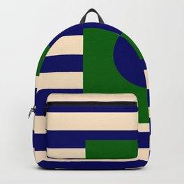 GEOMETRY BLUE&GREEN V Backpack