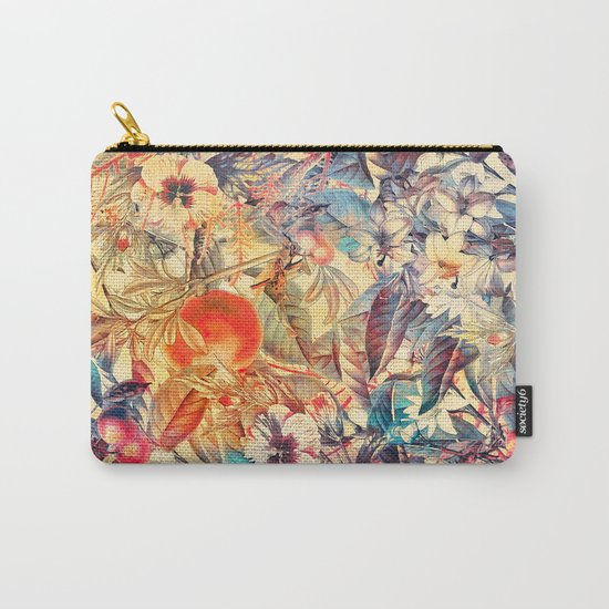 flowers 8 Carry-All Pouch