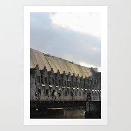 Ghent Belgium Art Print