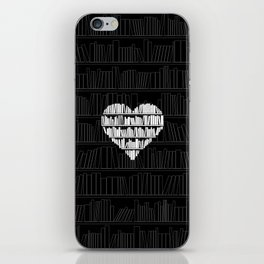 Book Lover iPhone Skin