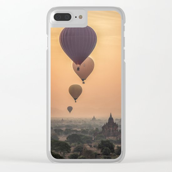 adventures in Asia Clear iPhone Case