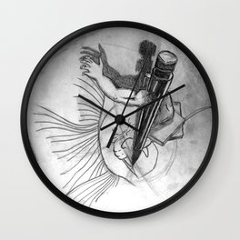 Pencil Alive Wall Clock