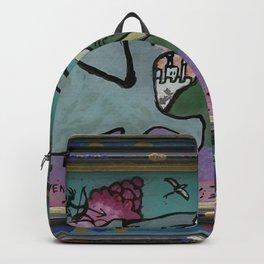Wassily Kandinsky - Lion Hunt Backpack