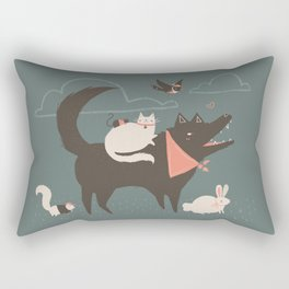 Wild Animals Rectangular Pillow