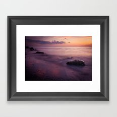 a piece of paradise Framed Art Print