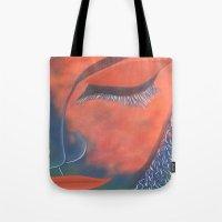 musa Tote Bags featuring La Musa by Alme