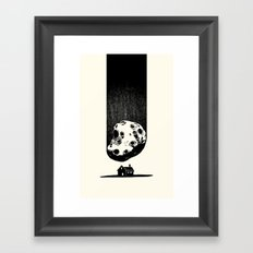 Trouble At Home Framed Art Print