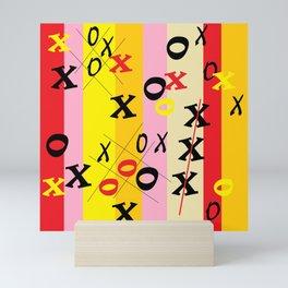 X's and O's Mini Art Print